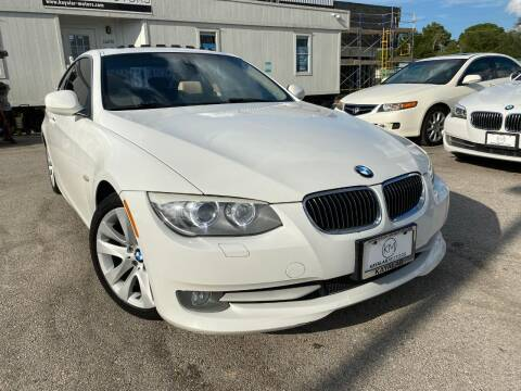 2011 BMW 3 Series for sale at KAYALAR MOTORS in Houston TX