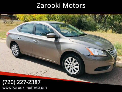 2015 Nissan Sentra for sale at Zarooki Motors in Englewood CO