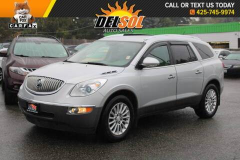 2012 Buick Enclave for sale at Del Sol Auto Sales in Everett WA