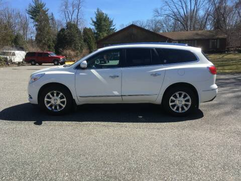 2014 Buick Enclave for sale at Lou Rivers Used Cars in Palmer MA