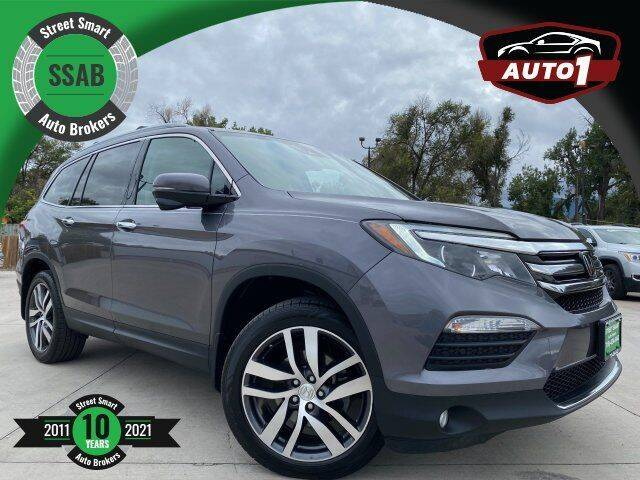 2017 Honda Pilot for sale at Street Smart Auto Brokers in Colorado Springs CO