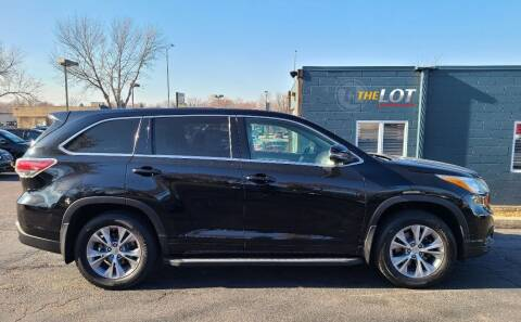 2015 Toyota Highlander for sale at THE LOT in Sioux Falls SD