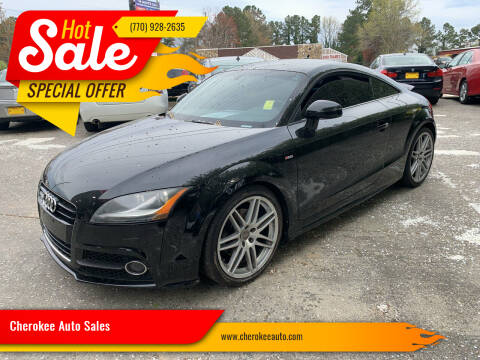 2012 Audi TT for sale at Cherokee Auto Sales in Acworth GA