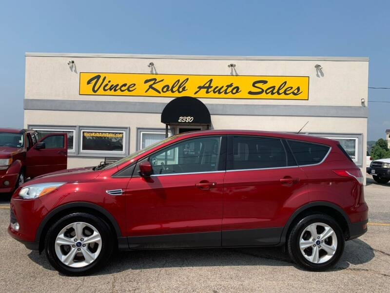 2016 Ford Escape for sale at Vince Kolb Auto Sales in Lake Ozark MO