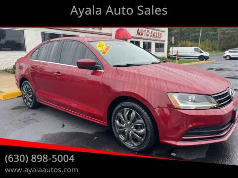 2017 Volkswagen Jetta for sale at Ayala Auto Sales in Aurora IL