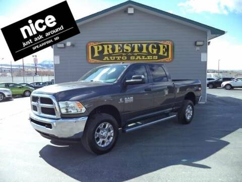 2018 RAM Ram Pickup 3500 for sale at PRESTIGE AUTO SALES in Spearfish SD