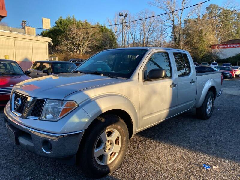 2007 Nissan Frontier for sale at Car Online in Roswell GA
