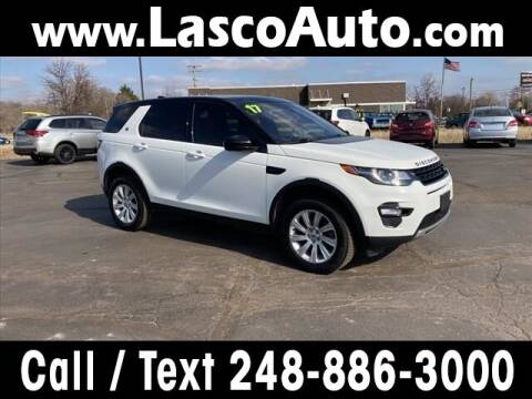 2017 Land Rover Discovery Sport for sale at Lasco of Waterford in Waterford MI