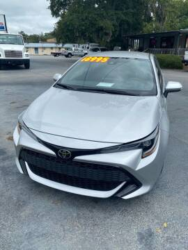 2019 Toyota Corolla Hatchback for sale at D & D Auto Sales in Valdosta GA