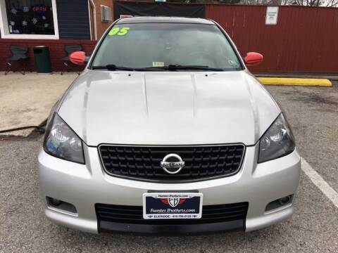 2005 Nissan Altima for sale at Fuentes Brothers Auto Sales in Jessup MD