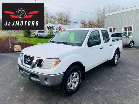 2010 Nissan Frontier for sale at J & J MOTORS in New Milford CT