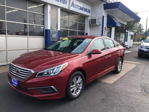 2016 Hyundai Sonata for sale at Jack E. Stewart's Northwest Auto Sales, Inc. in Chicago IL