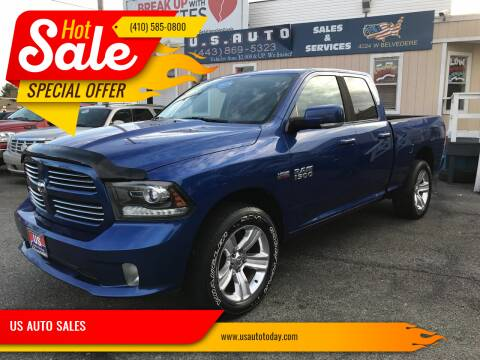 2014 RAM Ram Pickup 1500 for sale at US AUTO SALES in Baltimore MD