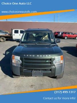 2007 Land Rover LR3 for sale at Choice One Auto LLC in Beech Grove IN