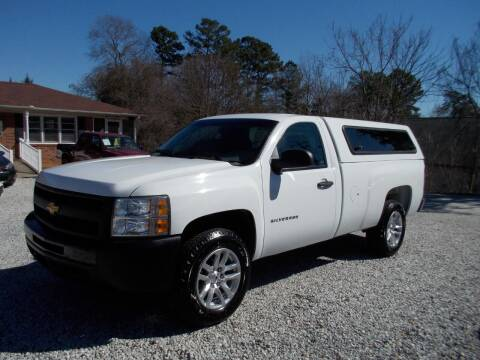 2013 Chevrolet Silverado 1500 for sale at Carolina Auto Connection & Motorsports in Spartanburg SC
