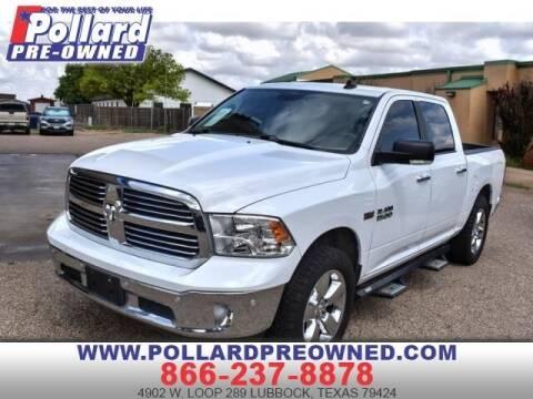 2016 RAM Ram Pickup 1500 for sale at South Plains Autoplex by RANDY BUCHANAN in Lubbock TX