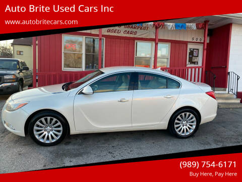 2012 Buick Regal for sale at Auto Brite Used Cars Inc in Saginaw MI