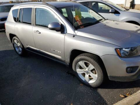 2014 Jeep Compass for sale at CRYSTAL MOTORS SALES in Rome NY