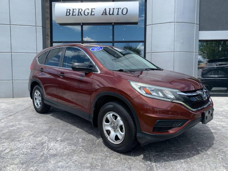 2015 Honda CR-V for sale at Berge Auto in Orem UT