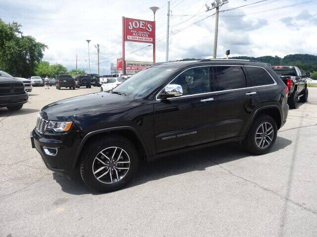 2020 Jeep Grand Cherokee for sale at Joe's Preowned Autos in Moundsville WV