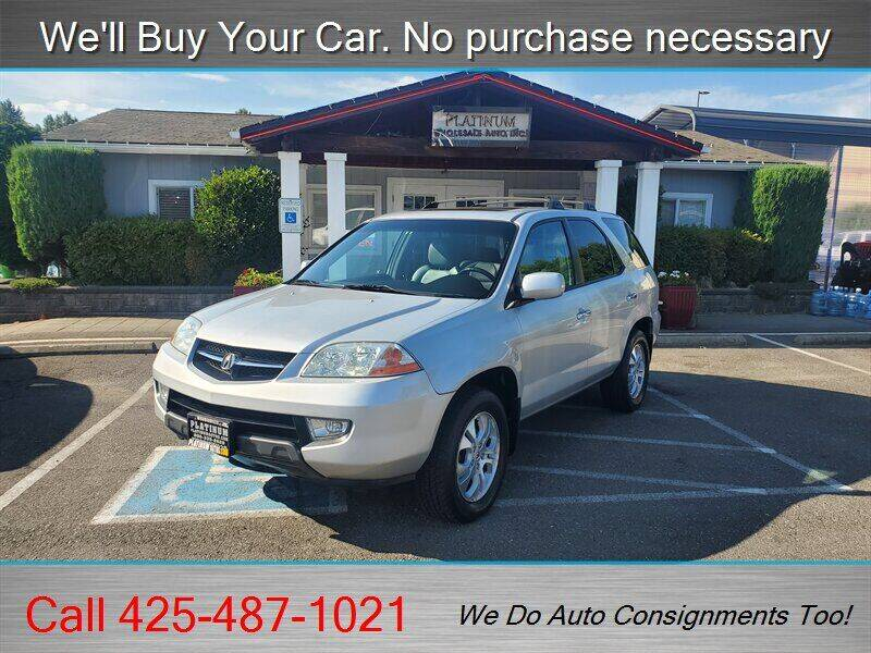 2003 Acura MDX for sale at Platinum Autos in Woodinville WA