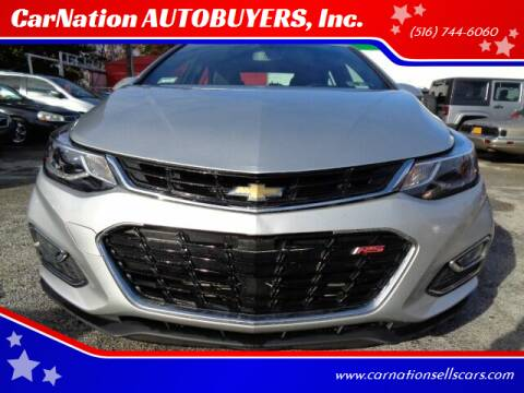 2017 Chevrolet Cruze for sale at CarNation AUTOBUYERS, Inc. in Rockville Centre NY