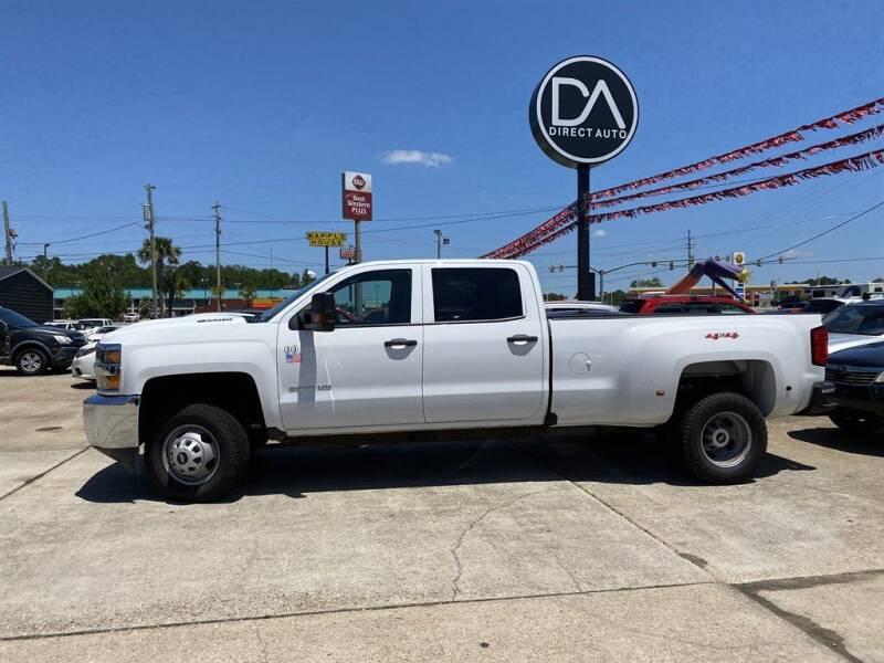 2019 Chevrolet Silverado 3500HD for sale at Direct Auto in D'Iberville MS