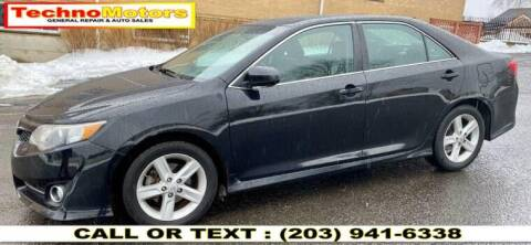 2014 Toyota Camry for sale at Techno Motors in Danbury CT