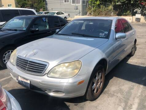 2002 Mercedes-Benz S-Class for sale at Eden Motor Group in Los Angeles CA