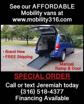 2019 Dodge Caravan for sale at Affordable Mobility Solutions, LLC - Mobility/Wheelchair Accessible Inventory-Wichita in Wichita KS