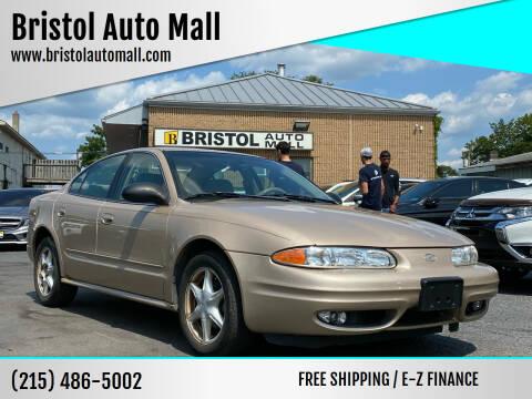 2002 Oldsmobile Alero for sale at Bristol Auto Mall in Levittown PA
