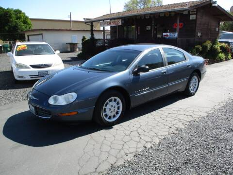 2000 Chrysler Concorde for sale at Manzanita Car Sales in Gridley CA