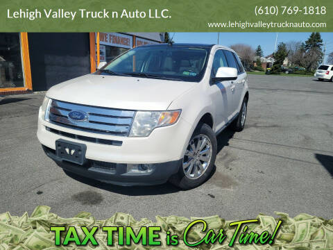2010 Ford Edge for sale at Lehigh Valley Truck n Auto LLC. in Schnecksville PA