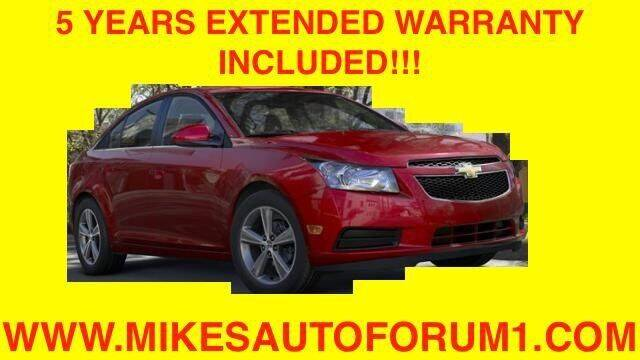 2014 Chevrolet Cruze for sale at Mikes Auto Forum in Bensenville IL