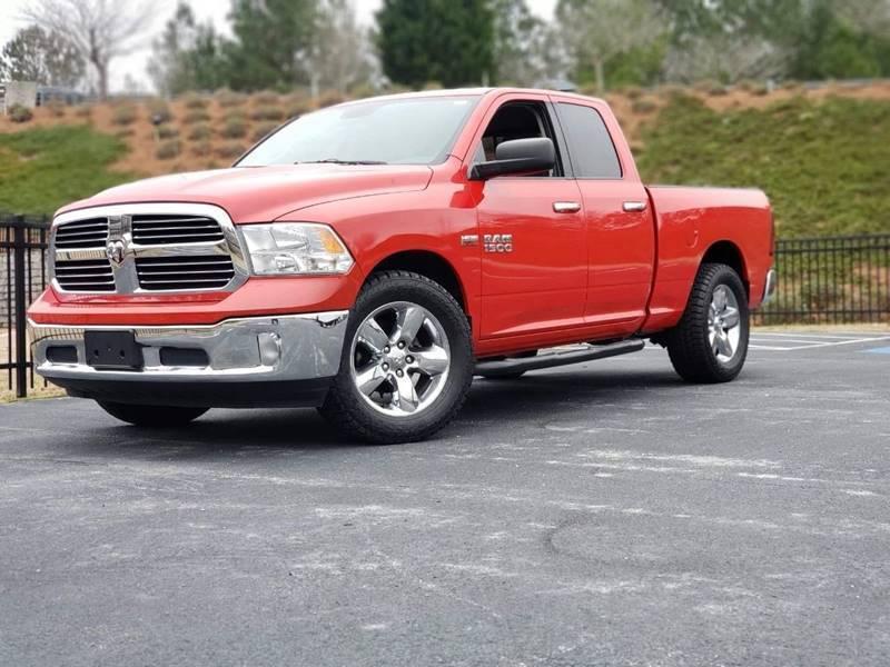 2014 RAM Ram Pickup 1500 for sale at Garcia Trucks Auto Sales Inc. in Austell GA