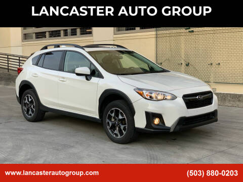 2020 Subaru Crosstrek for sale at LANCASTER AUTO GROUP in Portland OR