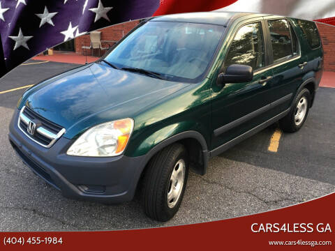 2003 Honda CR-V for sale at Cars4Less GA in Alpharetta GA