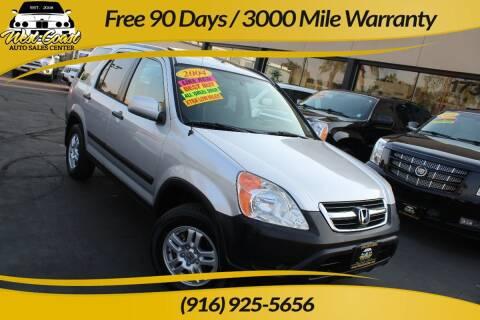 2004 Honda CR-V for sale at West Coast Auto Sales Center in Sacramento CA