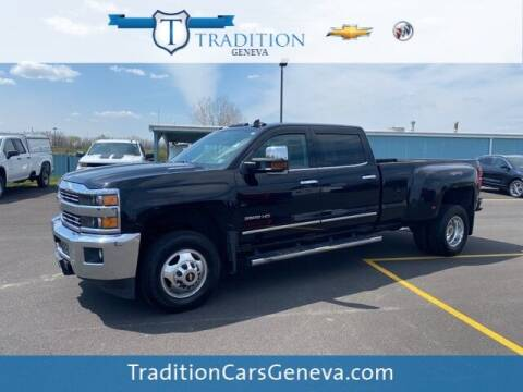 2015 Chevrolet Silverado 3500HD for sale at Tradition Chevrolet Buick in Geneva NY