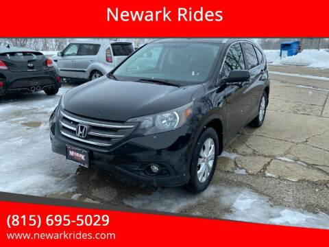 2013 Honda CR-V for sale at Newark Rides in Newark IL