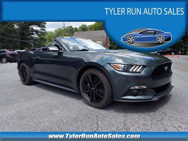 2016 Ford Mustang for sale at Tyler Run Auto Sales in York PA