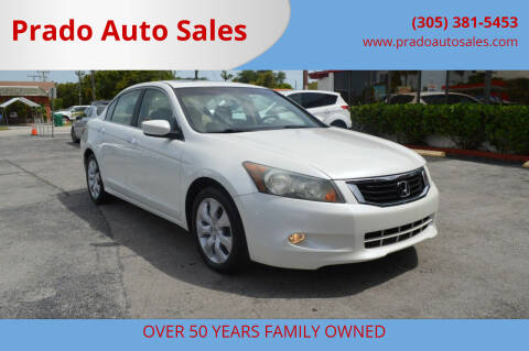 2010 Honda Accord for sale at Prado Auto Sales in Miami FL