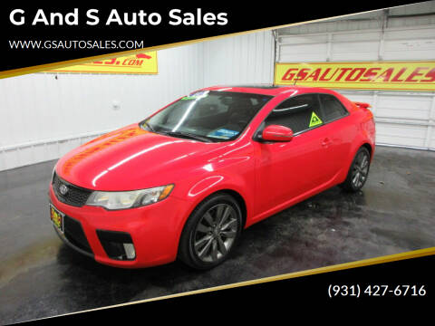 2011 Kia Forte Koup for sale at G and S Auto Sales in Ardmore TN