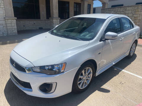 2016 Mitsubishi Lancer for sale at Ted's Auto Corporation in Richardson TX