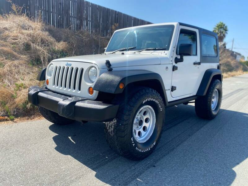 2008 Jeep Wrangler for sale at Elite Car Center in Spring Valley CA
