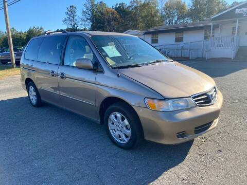 2003 Honda Odyssey for sale at CVC AUTO SALES in Durham NC