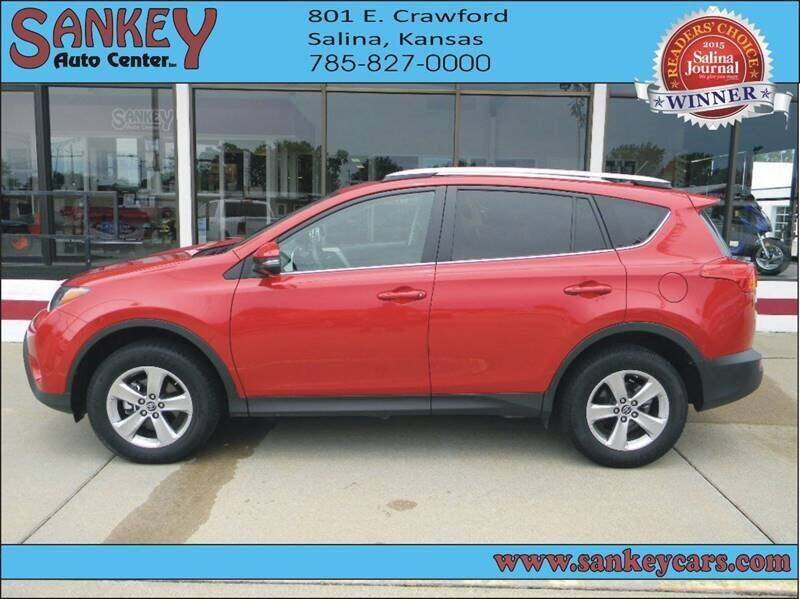 2015 Toyota RAV4 for sale at Sankey Auto Center, Inc in Salina KS