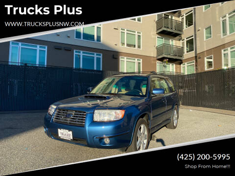 2008 Subaru Forester for sale at Trucks Plus in Seattle WA