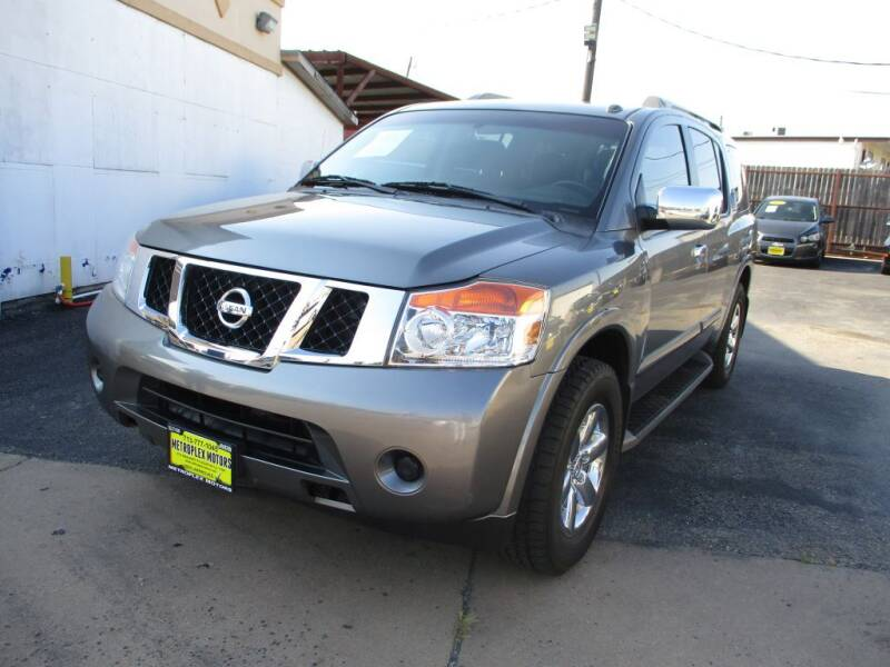 2015 Nissan Armada for sale at Metroplex Motors Inc. in Houston TX