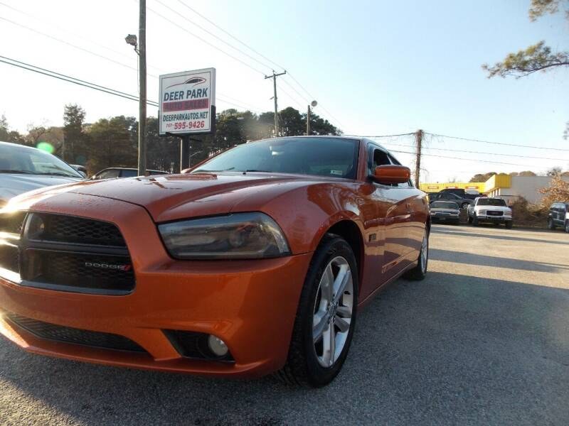 2011 Dodge Charger for sale at Deer Park Auto Sales Corp in Newport News VA